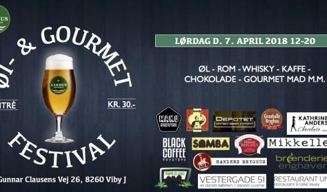 Øl- & Gourmet festival (forsalg af billet er udsolgt, men kan købes ved ankomst)