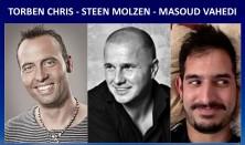 Komikerværkstedet - Torben Chris, Steen Molzen & Masoud Vahedi