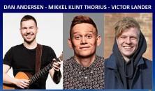 Komikerværkstedet - Dan Andersen, Mikkel Klint Thorius & Victor Lander