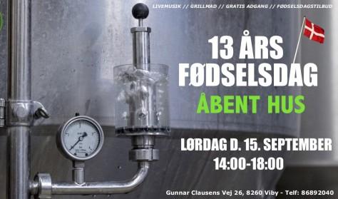 13 års fødselsdag // Åbent Hus