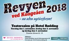 Revyen ved Kongeåen 2018 - Nu uden nytårsforsæt!