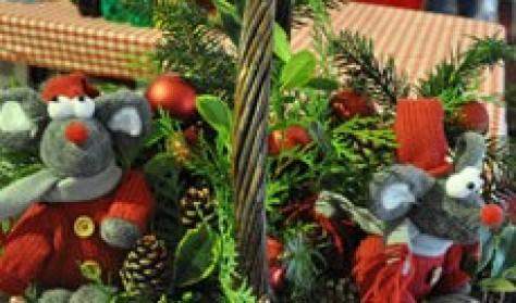 Udstiller billet til Julemarked på Gram Slot