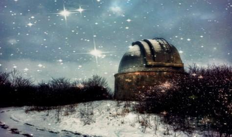 Julestjerner på Brorfelde Observatorium – en (h)videnskabelig jul (2018)