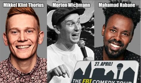 FBI - Comedy Tour m. Mikkel Klint Thorius, Morten Wichmann og Mahamad Habane