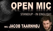 English Open mic - Host: Jacob Taarnhøj