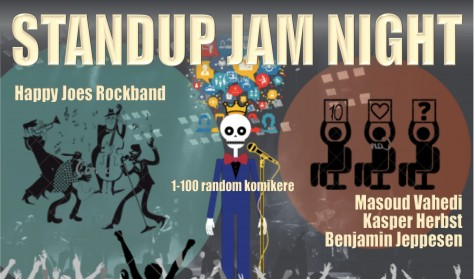 Standup Jam Night!