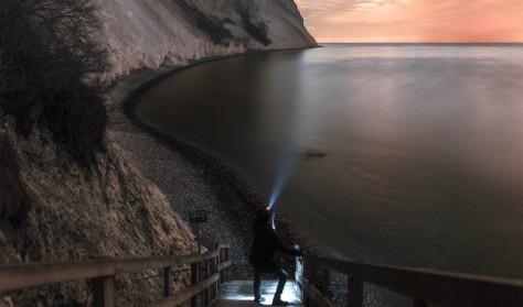 Fuldmånestillevandring på Møns Klint i Dark Sky  med overnatning og mad på Camønogaarden