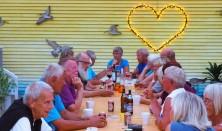 Sommerfest med mad og musik