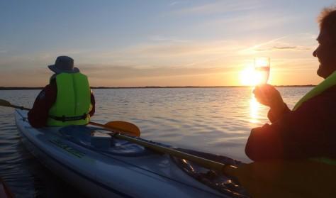 Solnedgangstur på Roskilde Fjord