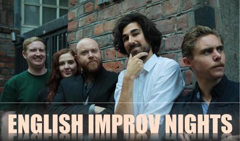 English improv show