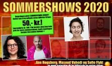 Sommershow med Sofie Flykt, Masoud Vahedi og Ane Høgsberg