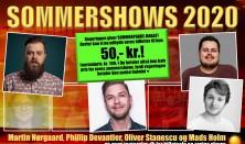 Sommershow med Oliver Stanescu, Phillip Devatier, Mads Holm og Martin Nørgaard