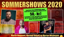 Sommershow med Morten Wichmann, Martin Nørgaard og Masoud Vahedi