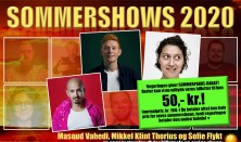 Sommershow med Masoud Vahedi, Mikkel Klint Thorius og Sofie Flykt