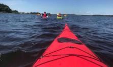 Prøv at sejle i kajak ved Nordkajen i Frederikssund