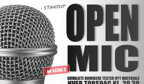 Open Mic SCENE 2 - 2020 (pris: 2 for 1)