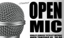 Open Mic SCENE 1 - 2020 (pris: 2 for 1)