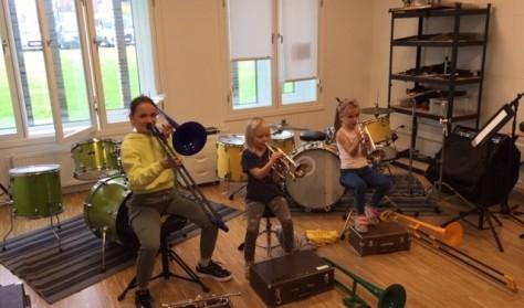 Vinterferieaktiviteter på musikskolen og i FDF orkesteret