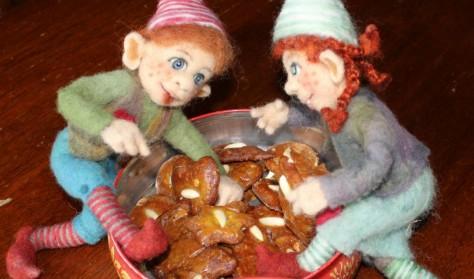 Juleteater, cafe og kreasysler