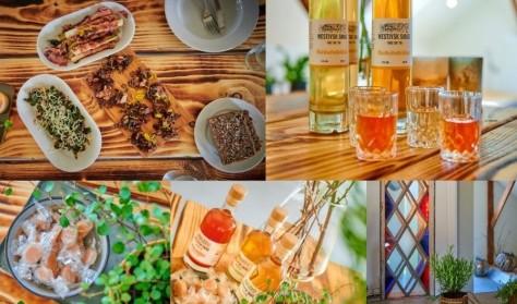 Lokale retter og likør hos Westjysk Smag // Lokale Gerichte und Likörverkostung um Westjysk Smag