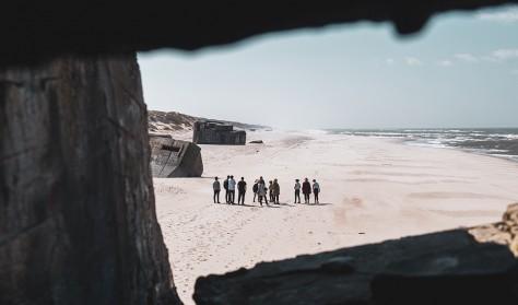 Bunkertur ved Houvigfæstningen (dansk guide)