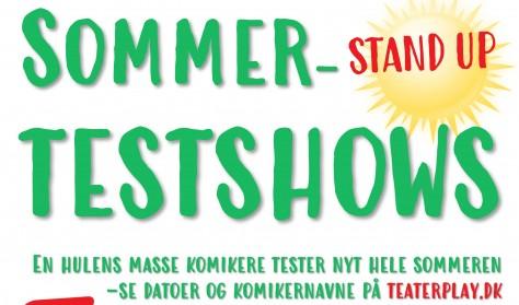 SOMMER-TESTSHOWS - Sofie Flykt, Kasper Porsdal, Peter Werner og Sisse Haugland