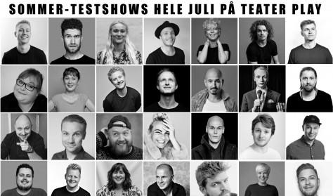 SOMMER-TESTSHOWS - Per Sodemann, Steen Molzen, Anne Bakland og Valdemar Pustelnik