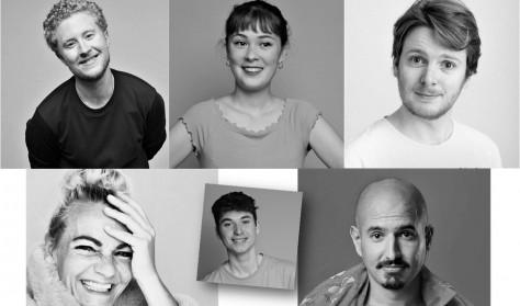 SOMMER-TESTSHOWS - Mads Holm, Jakob Thrane, Masoud Vahedi, Henriette Thuesen og Eva Jin