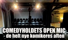 Comedyholdets OPEN MIC