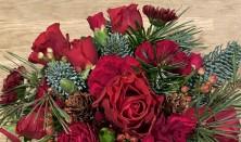 Blomsterkursus - Dekoration til Julebordet