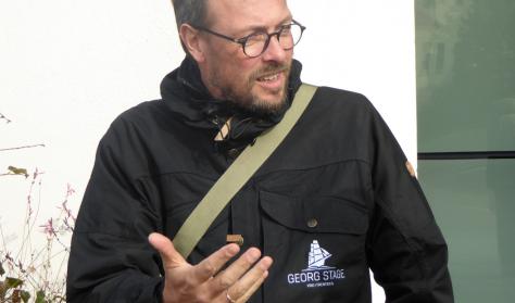 Mød direktøren for Georg Stage på Holbæk Museum