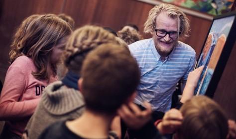Søren Mølstrøm: Sjov med Kunst for fædre og børn